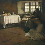 A Hopeless Dawn, by Frank Bramley, 1888